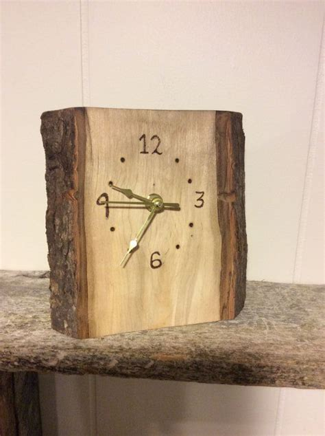Diy Wood Slab Clocks