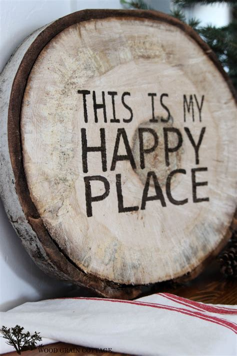 Diy Wood Slab Signs Sayings