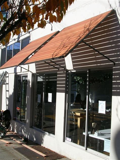 Diy Wood Slat Awning