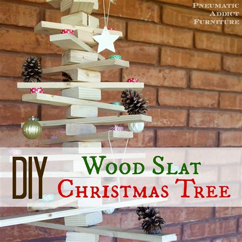 Diy Wood Slat Christmas Tree