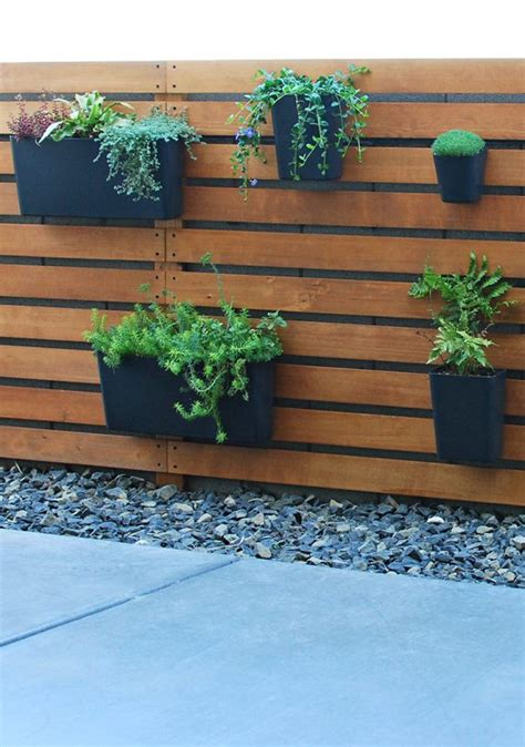 Diy Wood Slat Pot Wall