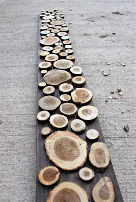 Diy Wood Slice Clock And Table