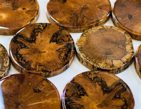 Diy Wood Slice Coasters Pub