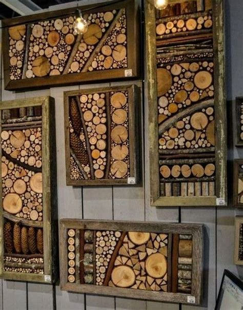 Diy Wood Slices Projects In Metal