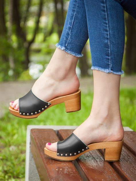 Diy Wood Sole Clogs For Girls