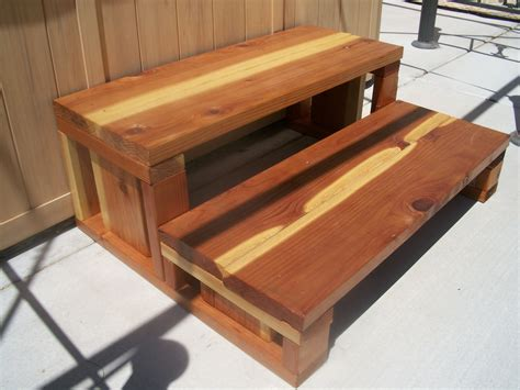 Diy Wood Spa Steps Plans