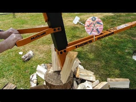 Diy Wood Splitter Thors Hammer