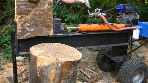 Diy Wood Splitter Youtube Videos