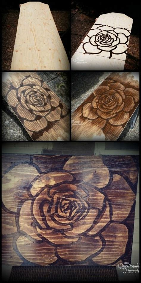 Diy Wood Stain Art