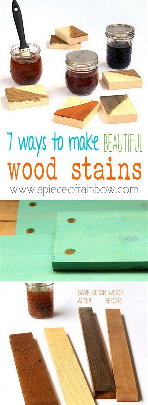 Diy Wood Stain Projects