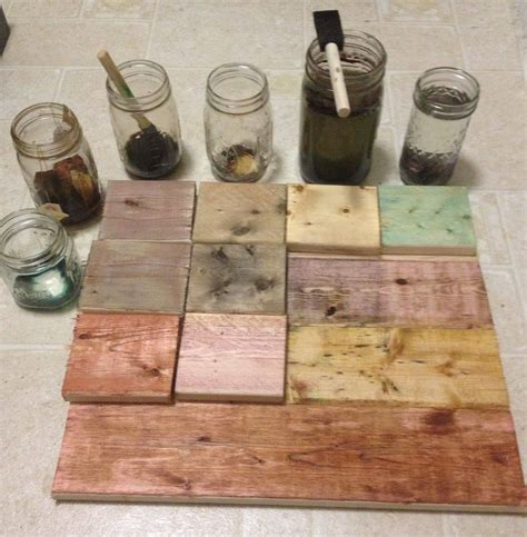 Diy Wood Stain With Tea Bags