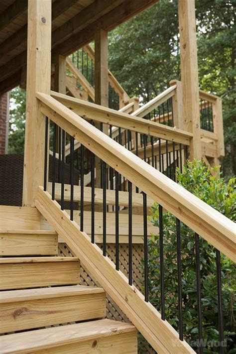 Diy Wood Stairs Prefinished Balusters Wood