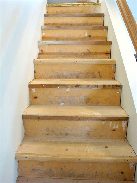 Diy Wood Stairs Prefinished Plywood