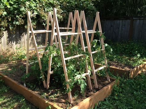 Diy Wood Stakes For Tomato
