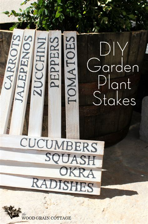 Diy Wood Stakes Home