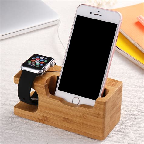 Diy Wood Stand Fo Watch And Iphone