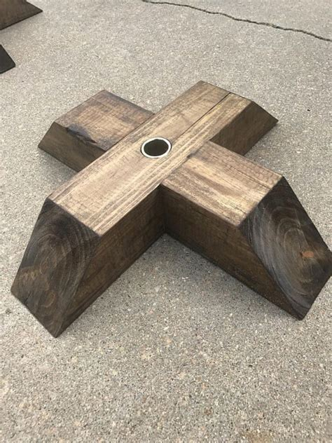 Diy Wood Stand Pole Flags