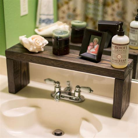 Diy Wood Standing Shelf Bathroom