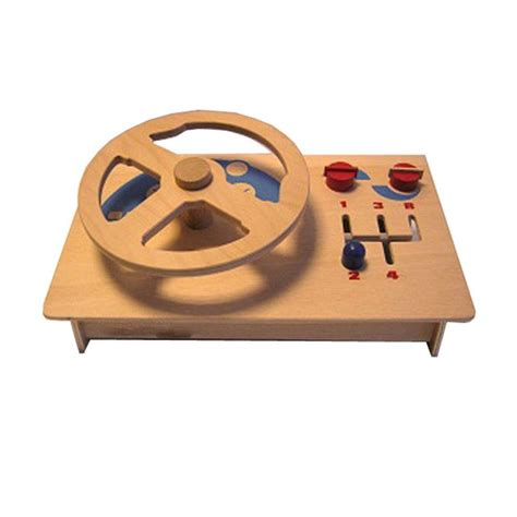 Diy Wood Steering Wheel For Kids