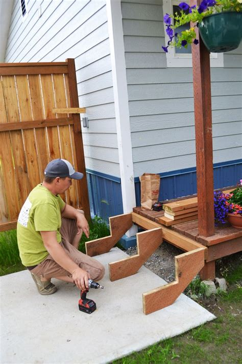 Diy Wood Steps Plans For Retirement