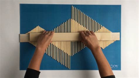 Diy Wood Stick Artwork