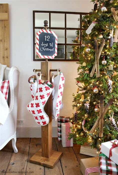 Diy Wood Stocking Hangers Idea