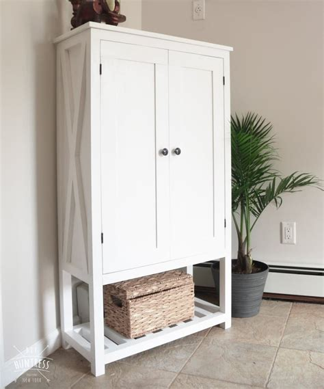 Diy Wood Storage Cabinet Plans