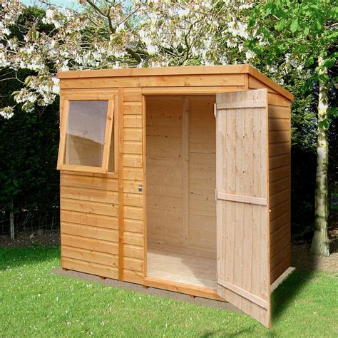 Diy Wood Storage Shed 4 X 6