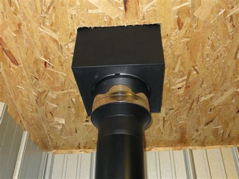 Diy Wood Stove Chimney Pipe Through Tent