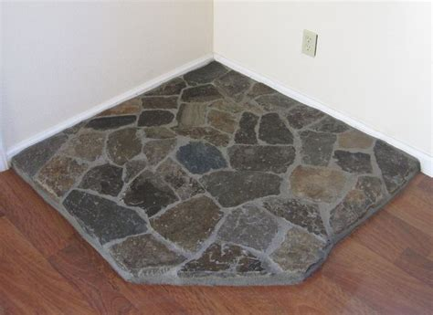 Diy Wood Stove Floor Pad Tiles That Look