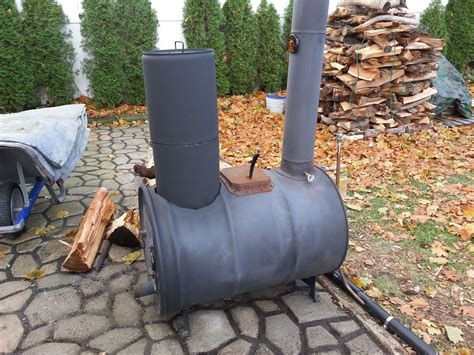 Diy Wood Stove From A 55 Gal Barrel