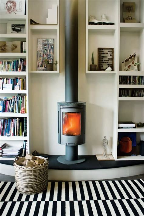 Diy Wood Stove Hearth Ideas For Small