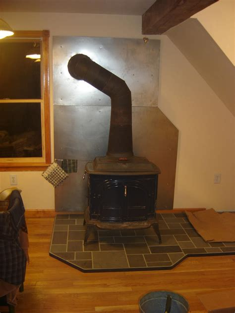 Diy Wood Stove Heat Shield