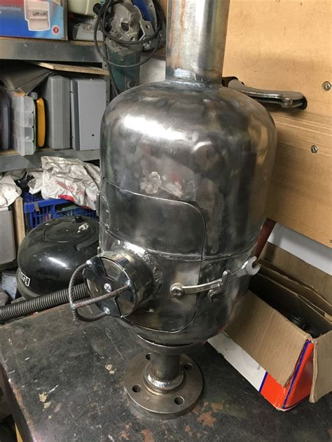 Diy Wood Stove In Vance