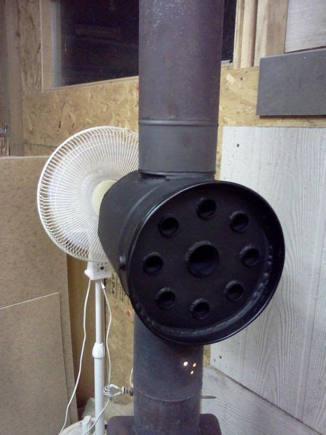 Diy Wood Stove Smoke Exhaust Pipe