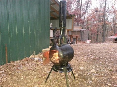 Diy Wood Stove Smoke Stack