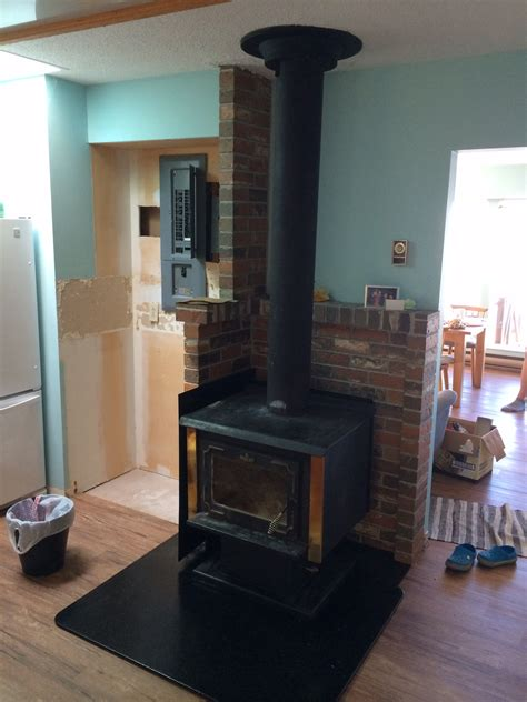 Diy Wood Stove Wall Heat Shield