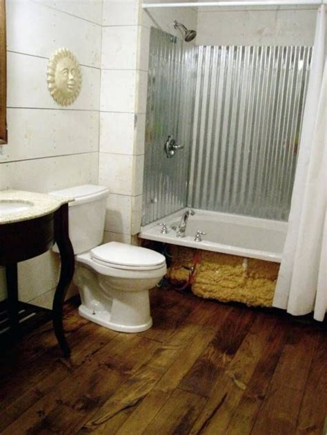 Diy Wood Surround Bathtub And Shower