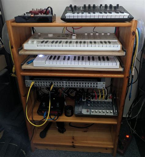 Diy Wood Synth Shelf Blueprints