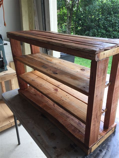 Diy Wood Table Dyeable Shoes