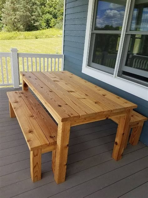 Diy Wood Table Outside Covers