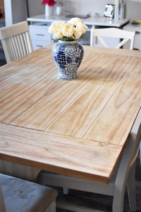 Diy Wood Table Refinishing Steps