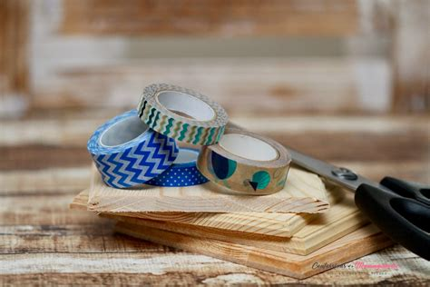 Diy Wood Tape Coasters Shoes
