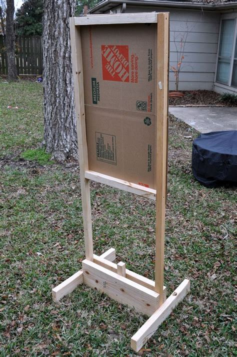 Diy Wood Target Stands For Shooting