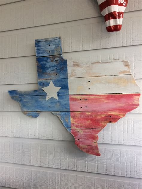 Diy Wood Texas State Flag