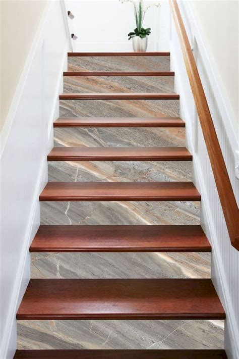 Diy Wood Tile Stairs