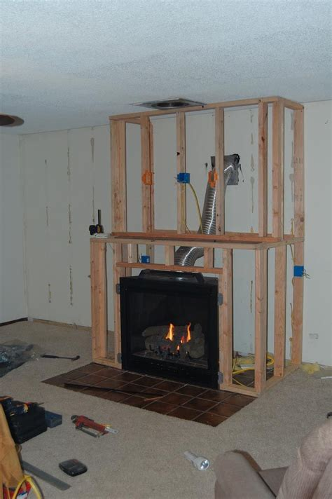 Diy Wood To Gas Fireplace