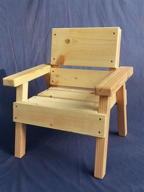 Diy Wood Toddler Chair
