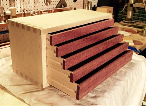 Diy Wood Tool Box With Drawer