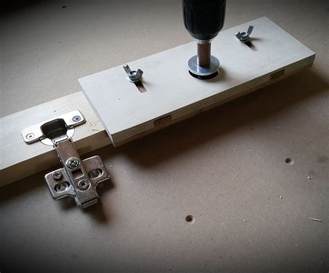 Diy Wood Toolbox With Multiple Hinges Types